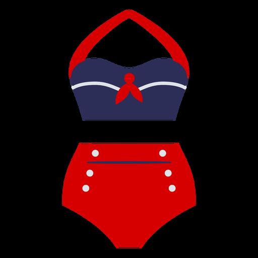 Vintage women swimsuit