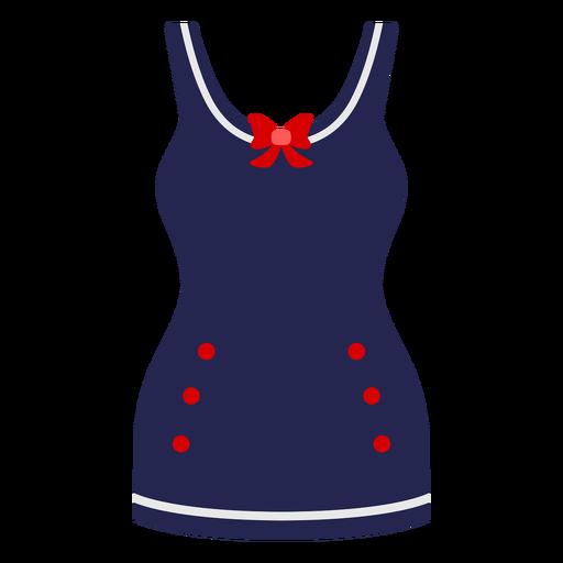 Marine dress flat