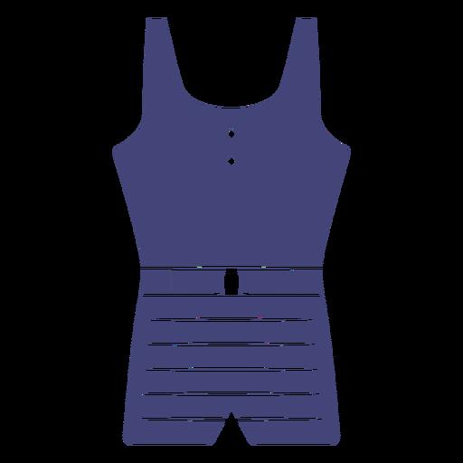 Old school bathing suit cut out