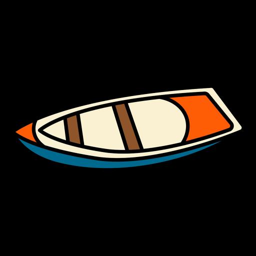 Boat small color stroke