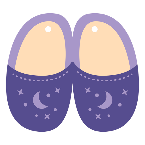 Night slippers flat