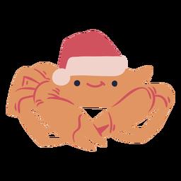 Christmas crab flat