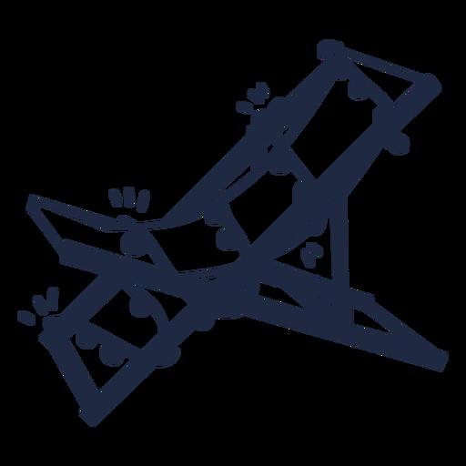 Christmas deck chair