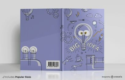 Große Ideen Buchumschlag Design