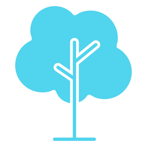 Icon tree cut out