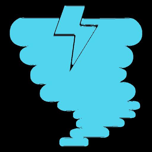 Tornado storm icon