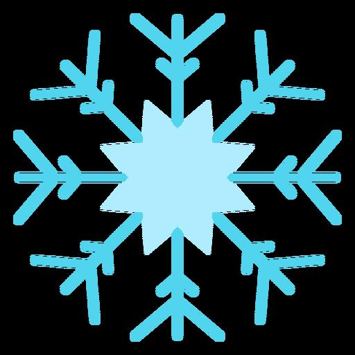 Snowflake winter icon