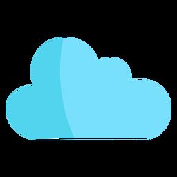 Single cloud semi flat