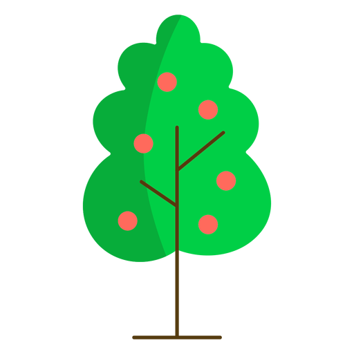 Manzano naturaleza semi plano
