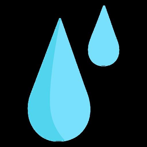 Gotas de lluvia agua