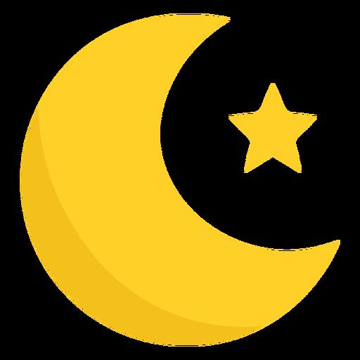 Moon semi flat