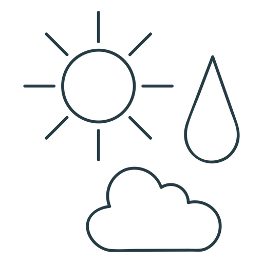 Weather types icons