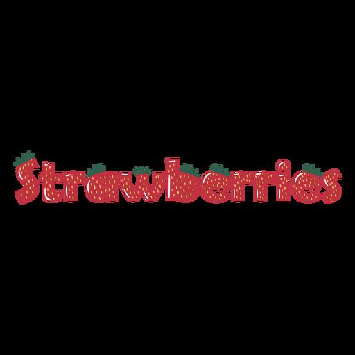 Strawberry fruit quote
