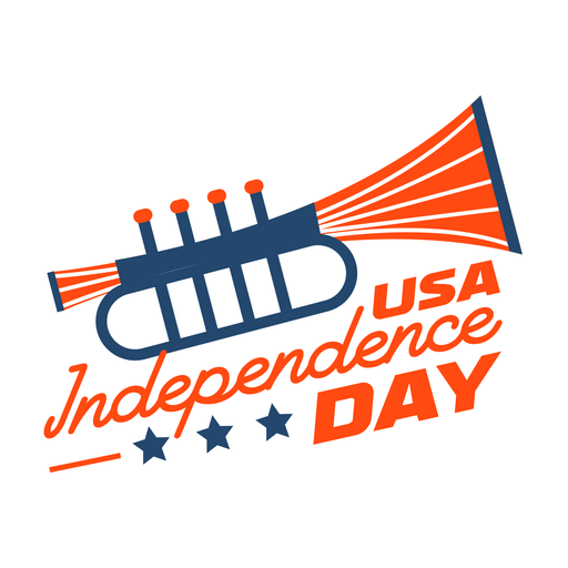 Independence day trumpet