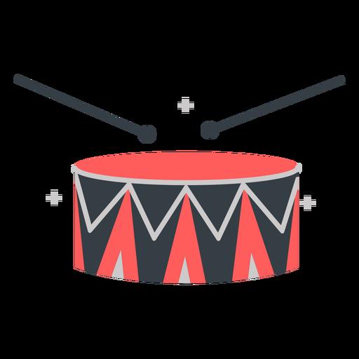 Drum roll flat
