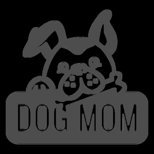 Dog mom filled stroke
