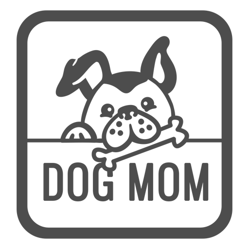Dogs mom filled stroke