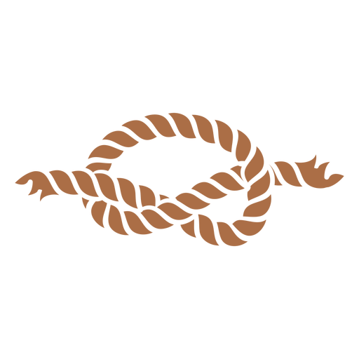 Simple knot color cut out