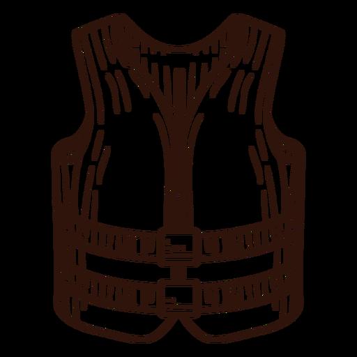 Life saver vest stroke