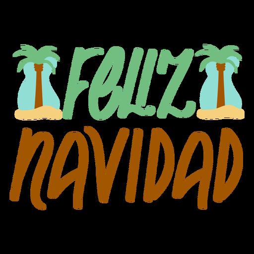 Summer christmas spanish badge