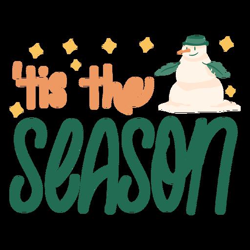 It's the season winter quote semi flat