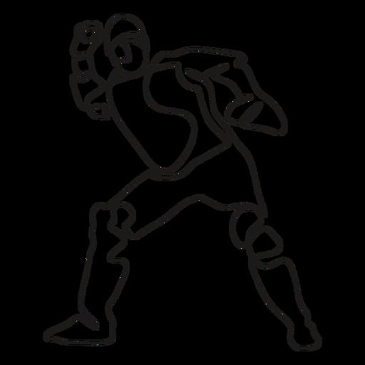 BaseballPlayers_ContinuousContourLine - 2