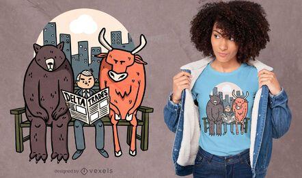 Delta trading t-shirt design