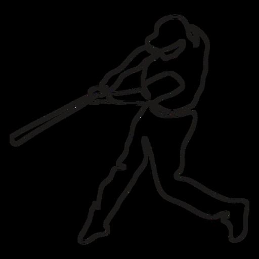 BaseballPlayers_ContinuousContourLine - 3