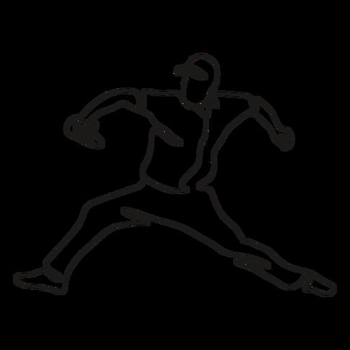 BaseballPlayers_ContinuousContourLine - 4