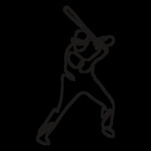 BaseballPlayers_ContinuousContourLine - 8