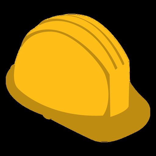 Builder hat semi flat