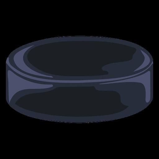 Hockey puck simple illustration