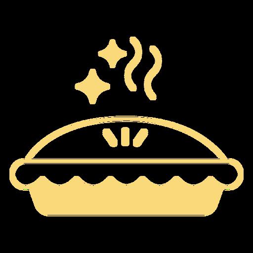 Sparkly pie filled stroke