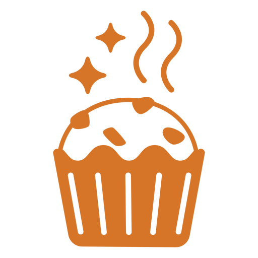Sparkly muffin filled stroke