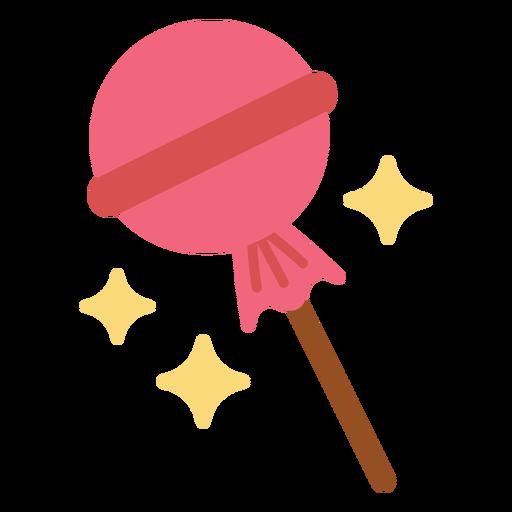 Sparkly lollipop flat