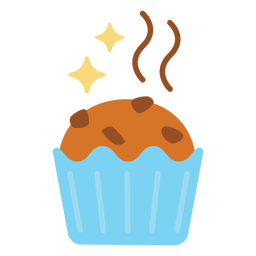 Sparkly muffin flat