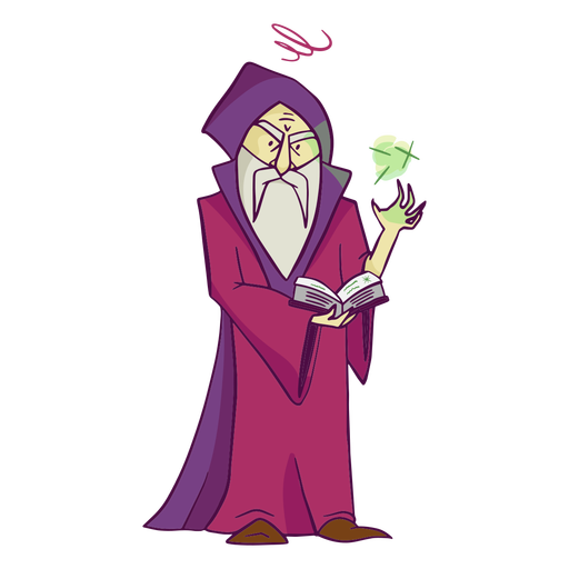 Evil Wizard illustration