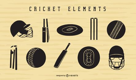 Cricket element cut-out set