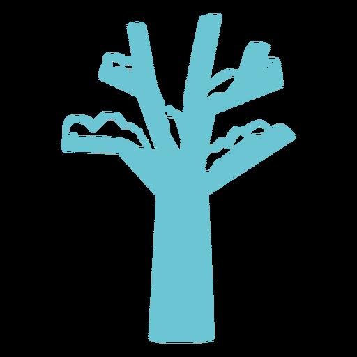 Naturaleza-Invierno-HandCutSimpleShapes-Vinilo - 6