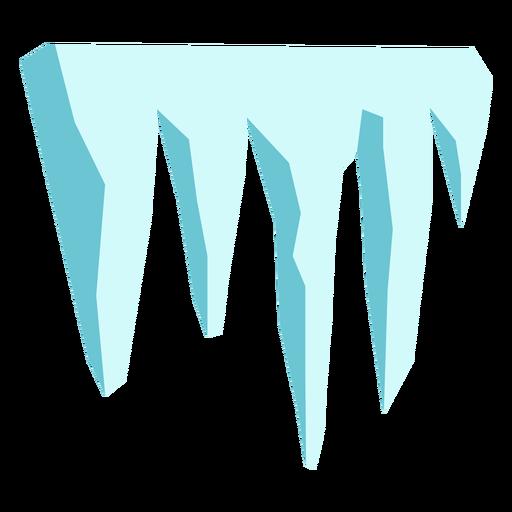 Ice dam cut flat