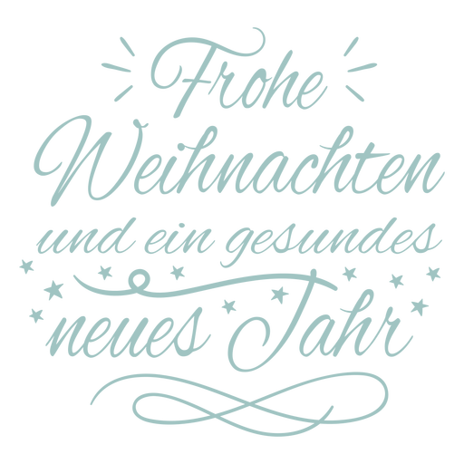 New year german quote badge
