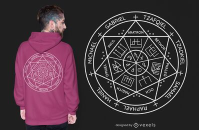 Seal of the Seven Archangels t-shirt design