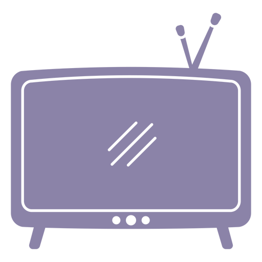 Vintage television flat
