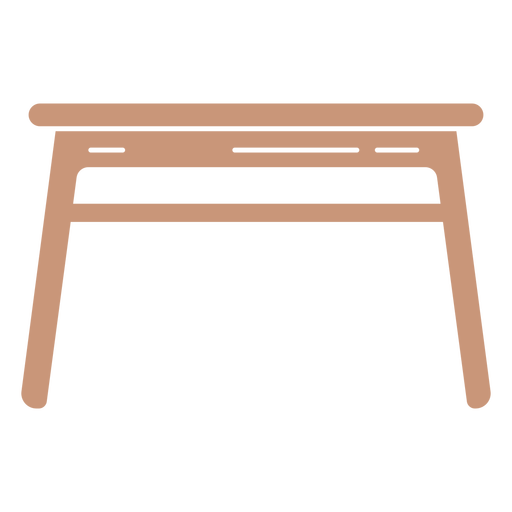 School table cut out