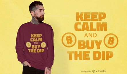 Compra el diseño de camiseta dip