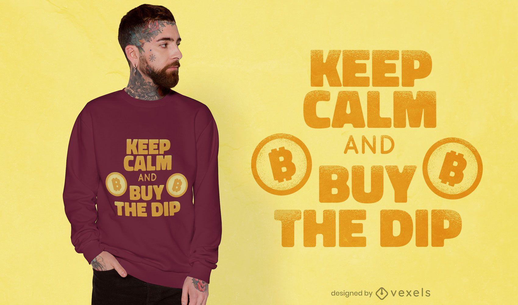Compre o design da camiseta dip