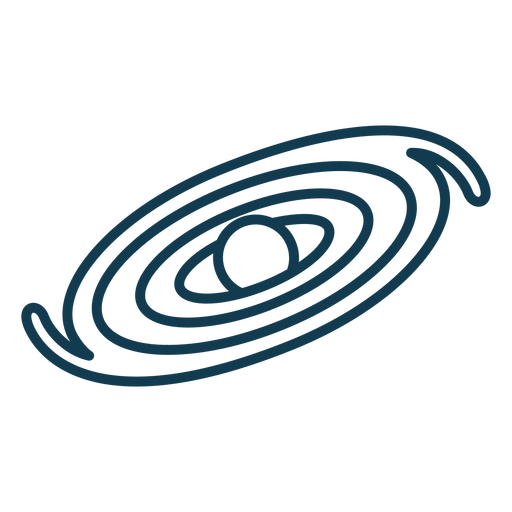 Galaxy geometric stroke element