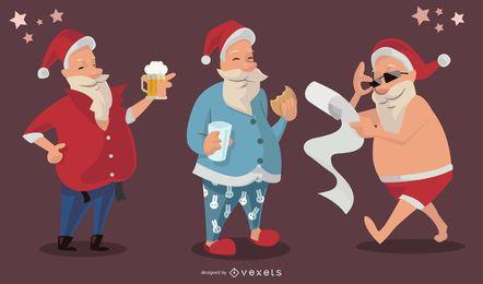 Navidad santa vector