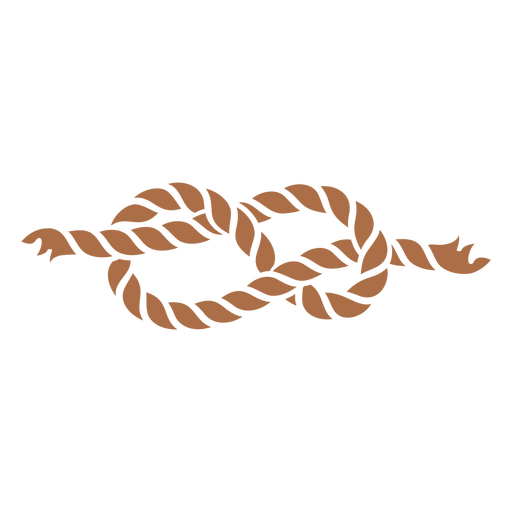 Double knot color cut out element