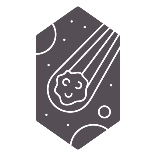 Asteroid space cut out